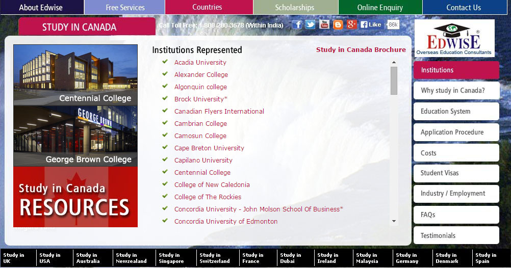 Study in Canada | Top Universities
